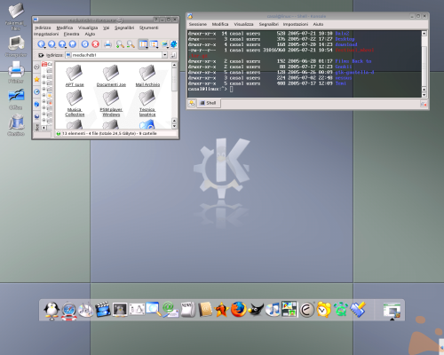 Un Desktop assolutamente Lineare !!