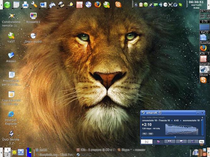 Il mio desktop