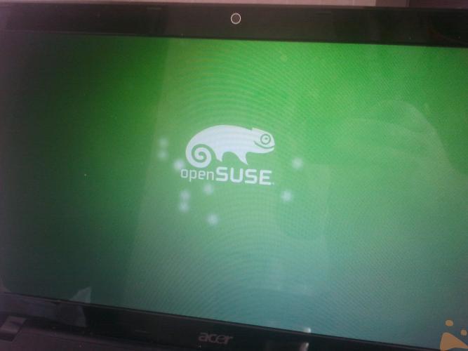 Bootsplash openSUSE 12.2
