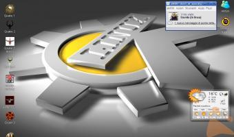 KDE 3.5 stile Mc Stracolmo di Gliochilli in versione Linux