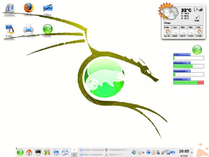 Il mio nuovo desktop