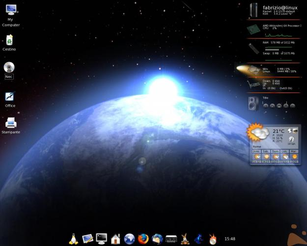 Space linux