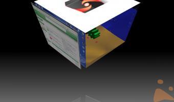 """Nuova Sezione """"Look Desktop su Opensuse in 3D."""