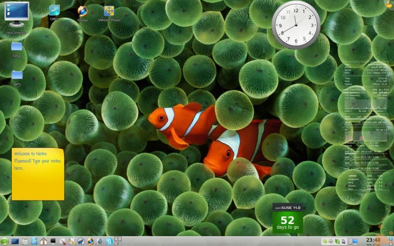 KDE 4.0.3