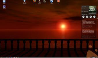 openSUSE 11+KDE 4.1+Compiz Fusion