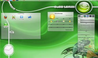 Desktop openSuse 11.4 - kde4