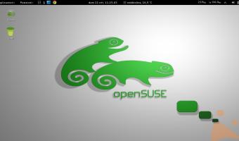 il mio desktop OpenSuse 13.1