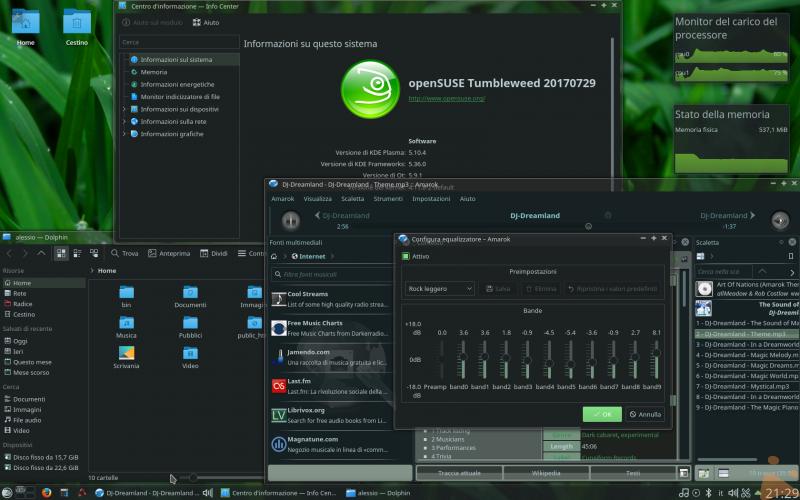 Il mio stile openSUSE preferito!